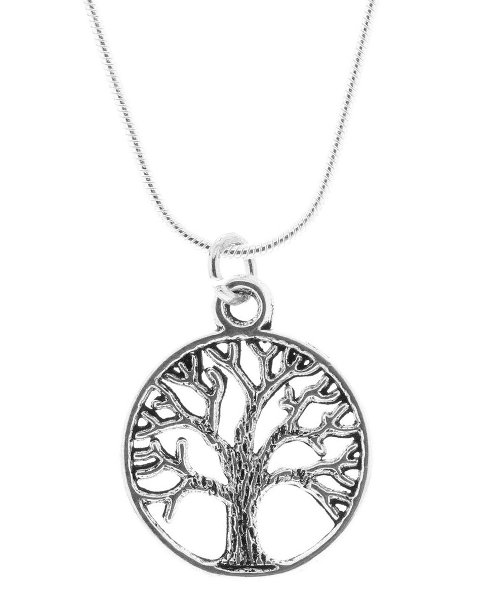 sterling pagan of wicca pendant tree silver life celtic necklace