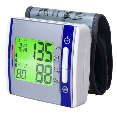3a92fc2bd3d Remedy Health Electronic Wrist Blood Pressure Monitor