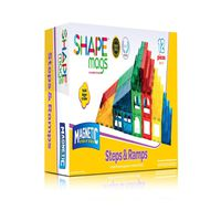 Shape Mags Magnetic Stick N Stack Steps & Ramps Set