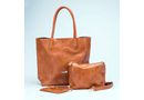 Brad Scott Safari Bag With Sling & Coin Purse - Tan