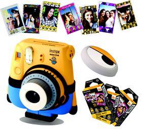 Fujifilm Instax Minion Camera Value Bundle