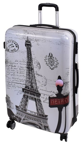 Marco Fashion Luggage Bag Paris - 28 inch