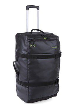 Voyager Upright Trolley Duffle - Black (700mm)