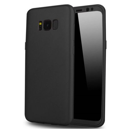 rivenditore online e3825 8d4ee Soft Jacket Cover for Samsung Galaxy S8 Plus - Black