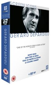 Gerard Depardieu Screen Icons Boxset - (Import DVD)