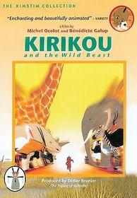 Kirikou and the Wild Beast - (Region 1 Import DVD)