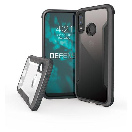 100% authentic ee7f2 7ad57 X-Doria Defense Case Shield For Huawei P20 Lite - Black