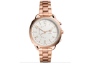 Fossil Q Accomplice Hybrid Smartwatch Rose Gold Stainless Steel