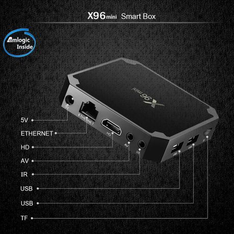 X96 Mini 8GB Android TV Media Box & Backlit Keyboard | Buy Online in