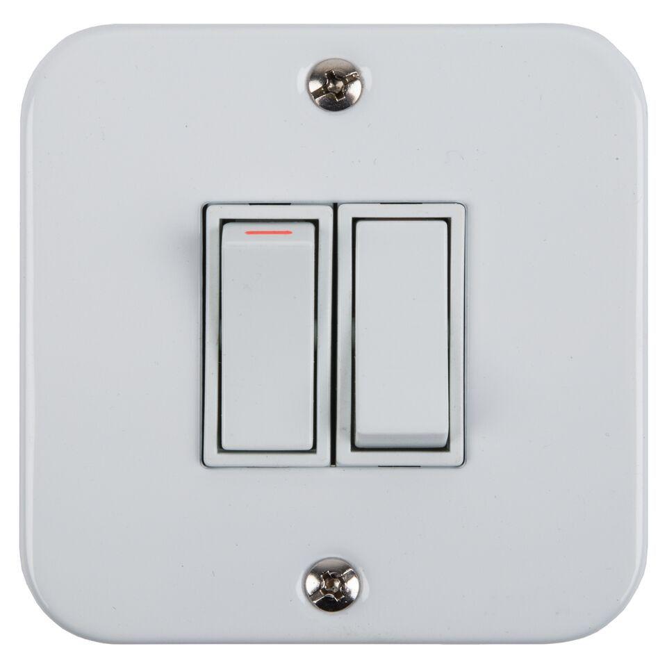 Nexus - Light Switch - Industrial 2 Lever | Buy Online in South ...