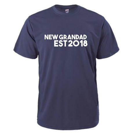 9c074f8d Qtees Africa Men's New Grandad Est2018 T-shirt - Navy | Buy Online in South  Africa | takealot.com