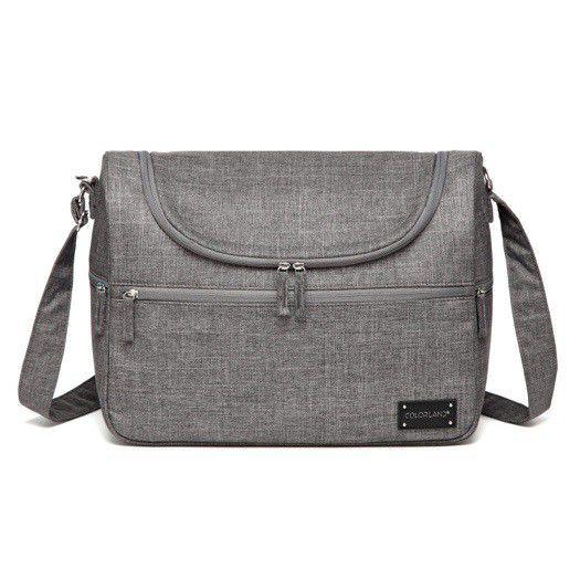 Snuggletime Nappy Bag - Classic Grey Travel Bag