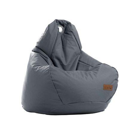 Magnificent Cielo Remi Kids Bean Bag Dark Grey Ncnpc Chair Design For Home Ncnpcorg