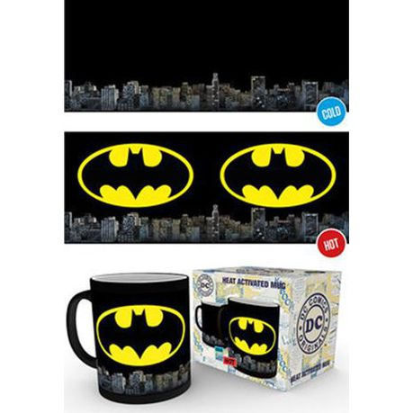 673787c5a0d4 DC Comics  Batman Logo - Heat Change Mug (Parallel Import)