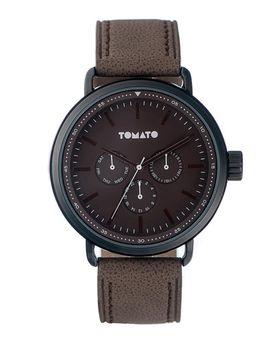 Tomato Men's Brown & Black Watch