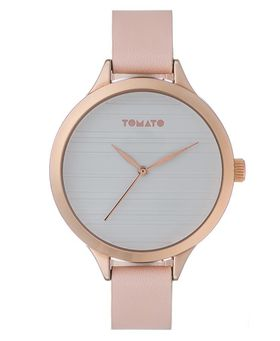 Tomato Women's Nude & Rose Gold Watch