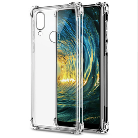 brand new 9dc3c 4bf47 Protective Shockproof Gel Case for Huawei P20 Lite - Clear