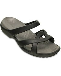7eb59b52d24e91 Crocs Women s Meleen Twist Sandal s - Black