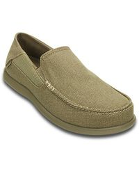 6b38687e58aa55 Crocs Men s Santa Cruz 2 Luxe Shoes - Khaki