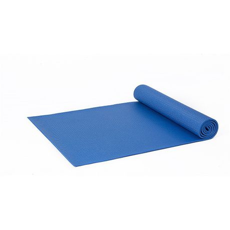 Fitness Pvc Non Slip Yoga Mat Pad Blue Buy Online In South Africa Takealot Com