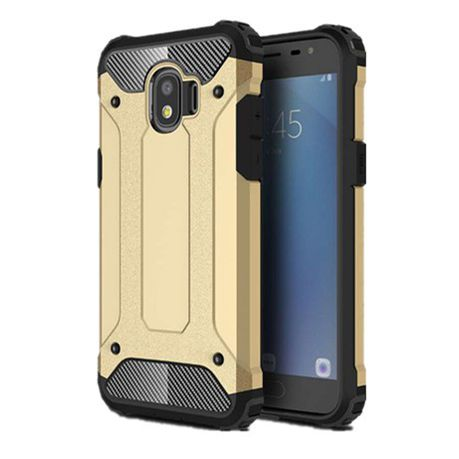 best cheap 31e35 ce46b Shockproof Armor Case for Samsung Grand Prime Pro - Gold