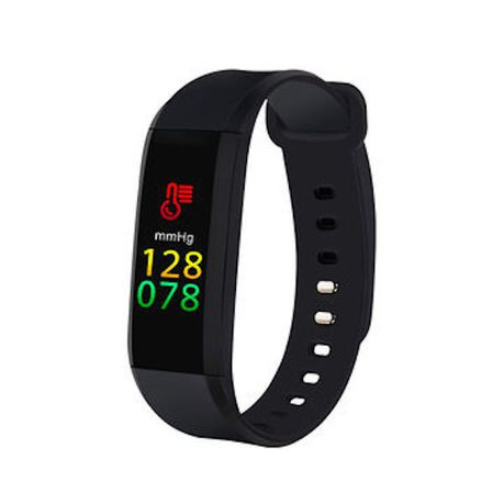M8 Smart Band with Heart Rate & Blood Pressure Monitor - Black