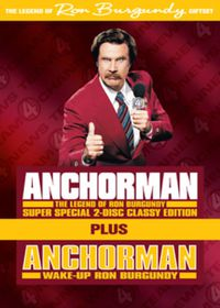 Anchorman Special Edition & Wake Up Ron Burgundy Set - (Import DVD)