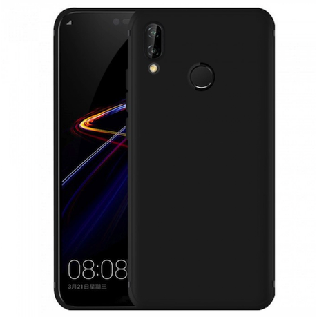 sports shoes 5ed68 b6bcf Protective Gel Case for Huawei P20 Lite - Black