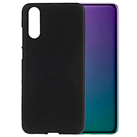 detailed look 9a77c d0491 Protective Gel Case for Huawei P20 Pro - Black