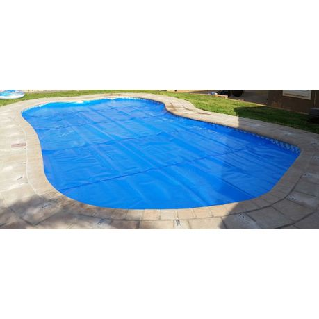 Power Bubble Swimming Pool Solar Cover - Blue (3m x 2m, 500 Micron ...
