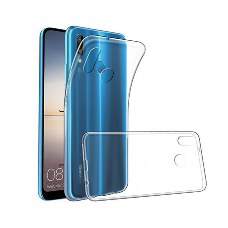 more photos 6f830 cd0a6 Digitronics Slim Fit Protective Clear Case for Huawei P20 Lite