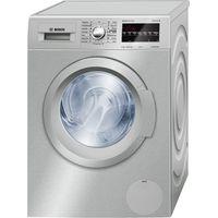 Bosch - 9kg Front Loader Washing Machine - Silver | Buy ...