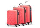 American Tourister Visby Good Vibes 3 Piece Set - Bright Coral
