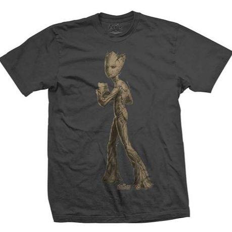 6607d0566 Avengers Infinity War: Teen Groot Character Men's T-Shirt (Parallel Import)  | Buy Online in South Africa | takealot.com