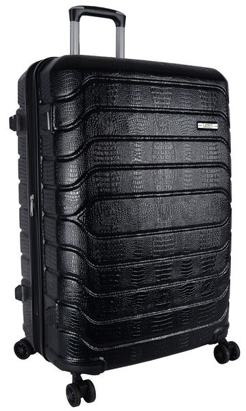Voss ABS 75cm Hard Case 4 Wheels - Black