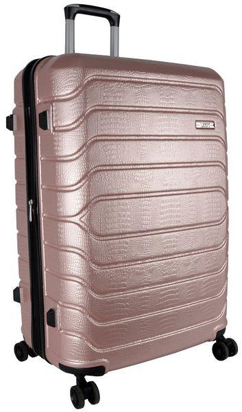 Voss ABS 75cm Hard Case 4 Wheels - Rose Gold