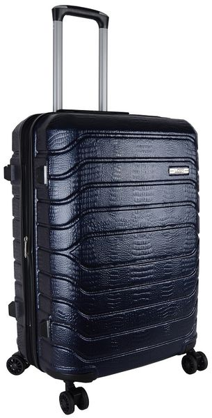Voss ABS 65cm Hard Case 4 Wheels - Navy