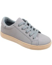 06c8fd3f666e Jada Ladies Low Top Lace-up Sneaker - Grey