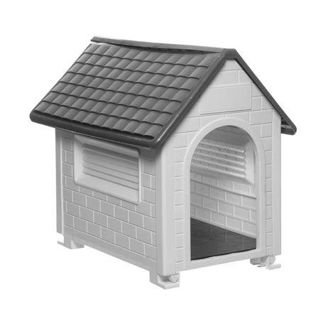 Wiggle Paw Pal Dog House Black White