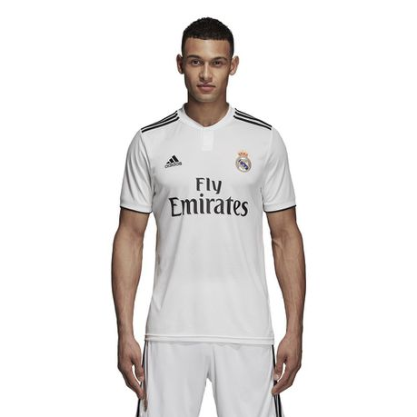 new product 6fa6e fa61a Men's adidas Real Madrid Home Replica Jersey | Buy Online in ...
