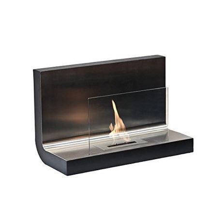 1green Wall Mounted Bio Ethanol Fireplace Ss With Glass Buy