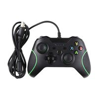 Raz Tech Wired Controller for XBox One - Black & Green