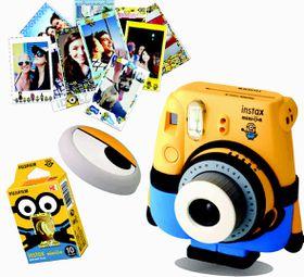 Fujifilm Instax Minion Instant Camera Value Bundle