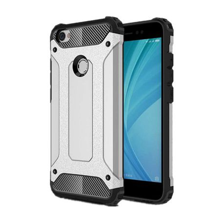 timeless design dd755 32d99 Shockproof Armor Case for Xiaomi Redmi Note 5A Prime - Silver