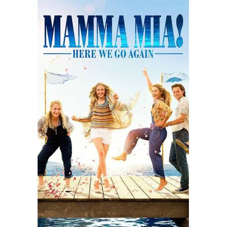 Mamma Mia Here We Go Again Dvd Buy Online In South Africa