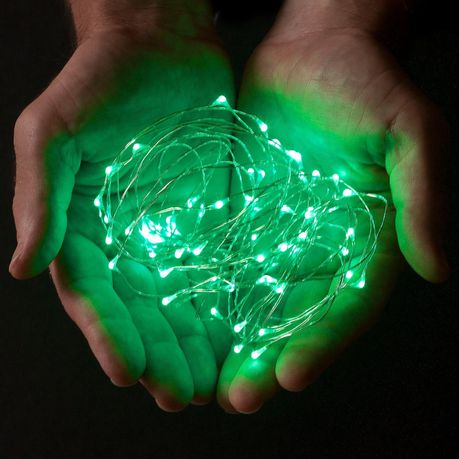 best loved c1c2a f02b7 15 Micro LED Fairy String Lights - Green (2 Pack) | Buy ...