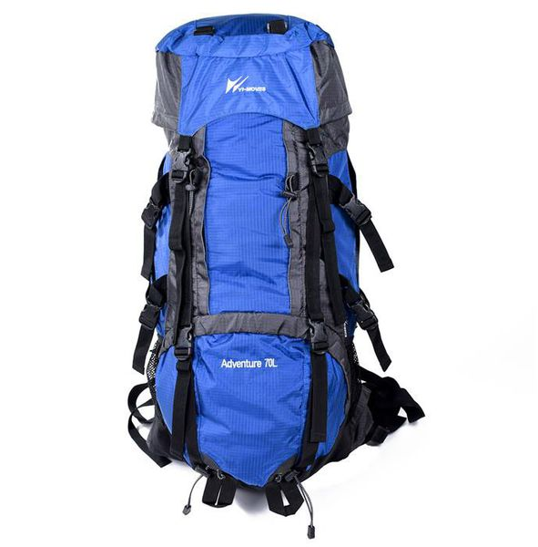 Parco Collection 67cm Hiking Backpack - Blue