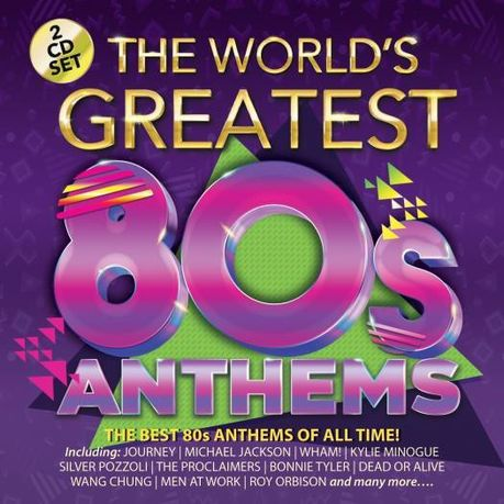 Various - The Worlds Greatest 80S Anthems (CD)