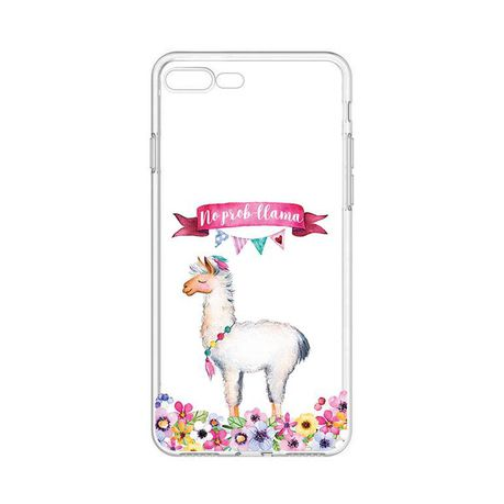 designer fashion 07fc0 55681 Hey Casey! Phone Case for iPhone 8 Plus - No Prob-Llama