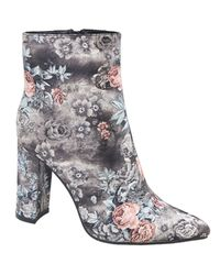 cd4e586f79a6 Jada Women s Floral Ankle Boots - Grey